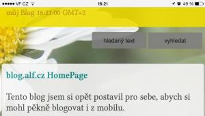 Proc mit vlastni blog