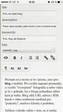 Proc mit vlastni blog #4